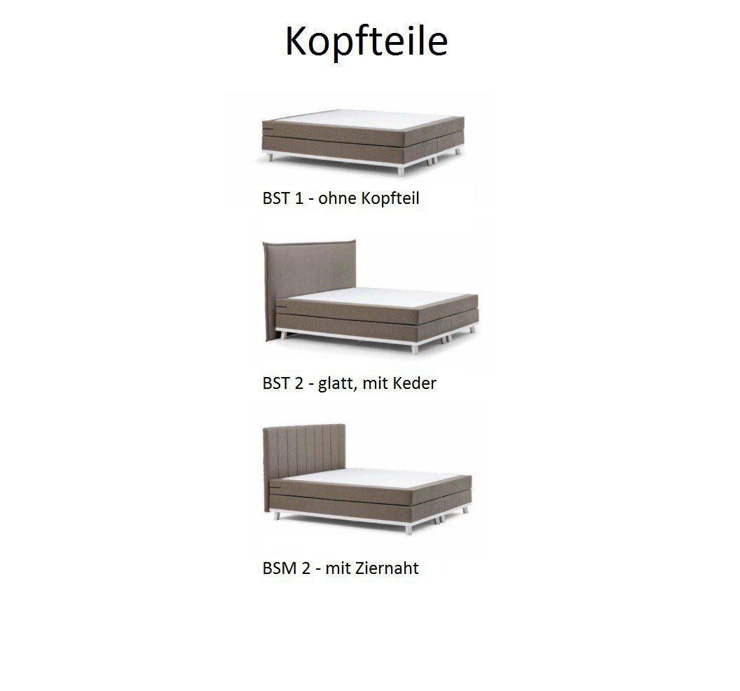 Boxspringbett Trendi Von Dico Möbel In Grau Braun L Möbel Letz Ihr