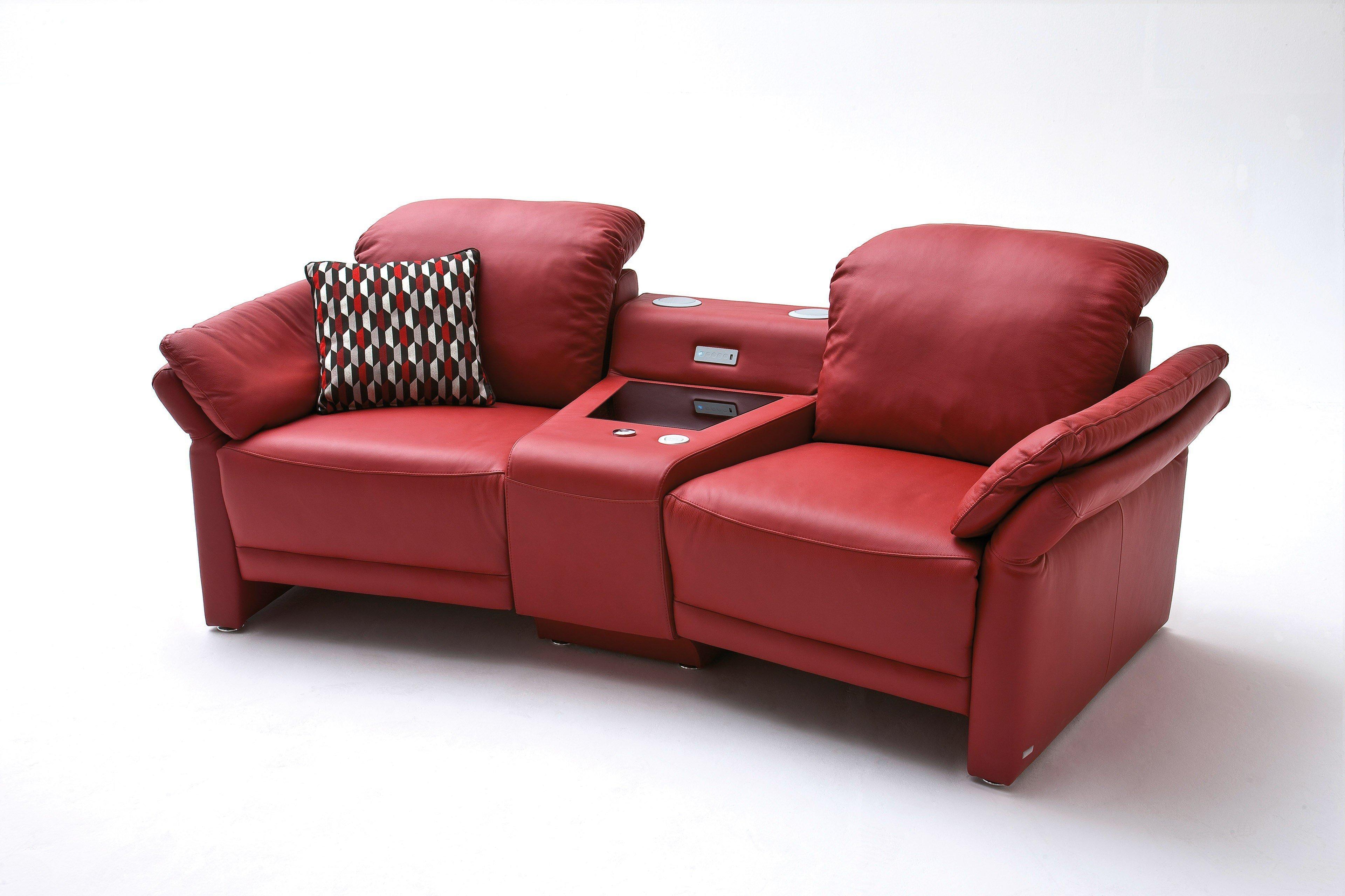 Corner von Casada - TV-Sofa rot   Möbel Letz - Ihr Online-Shop