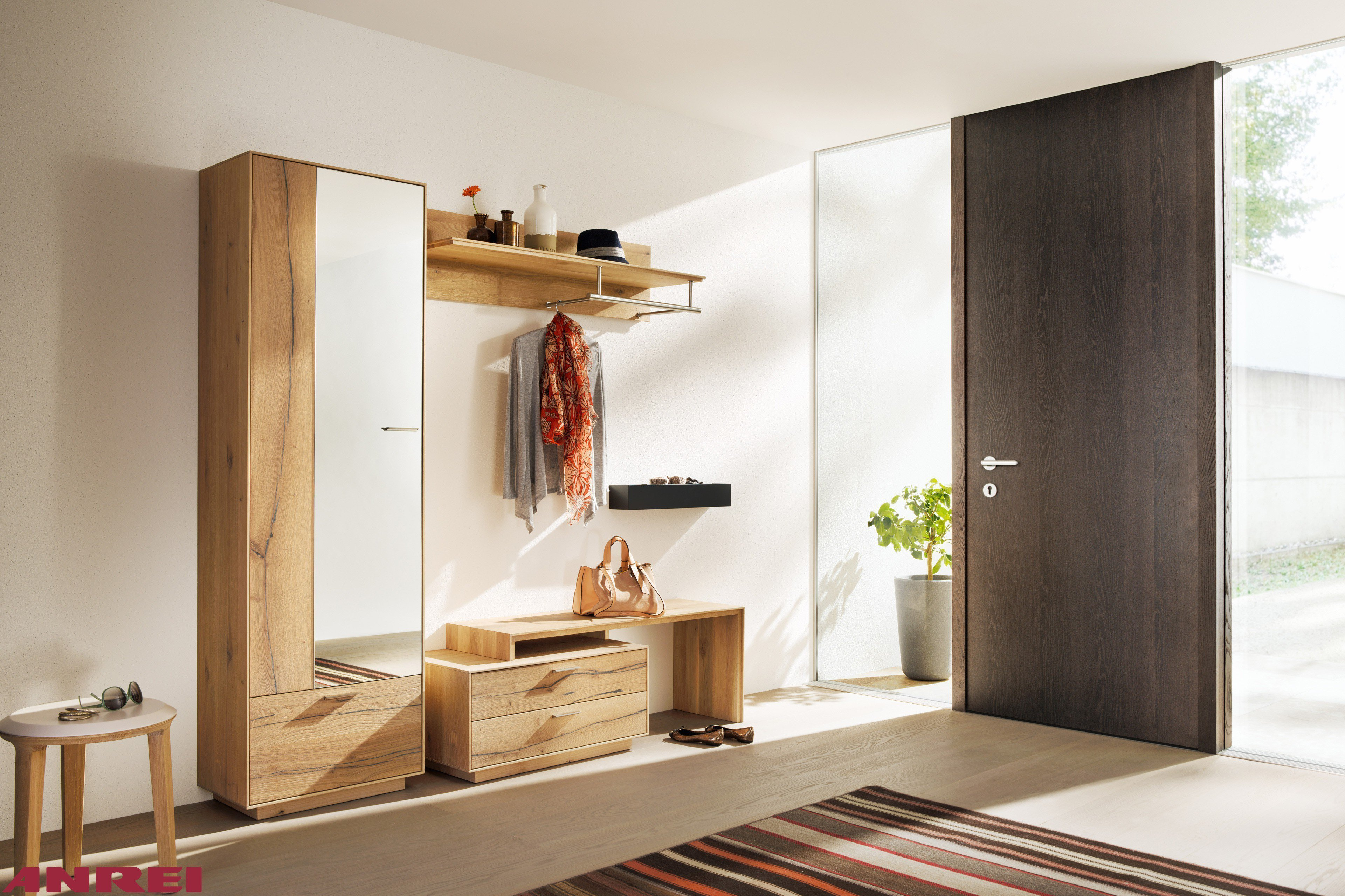ANREI Garderobe Puro PU 70 Asteiche | Möbel Letz - Ihr Online-Shop