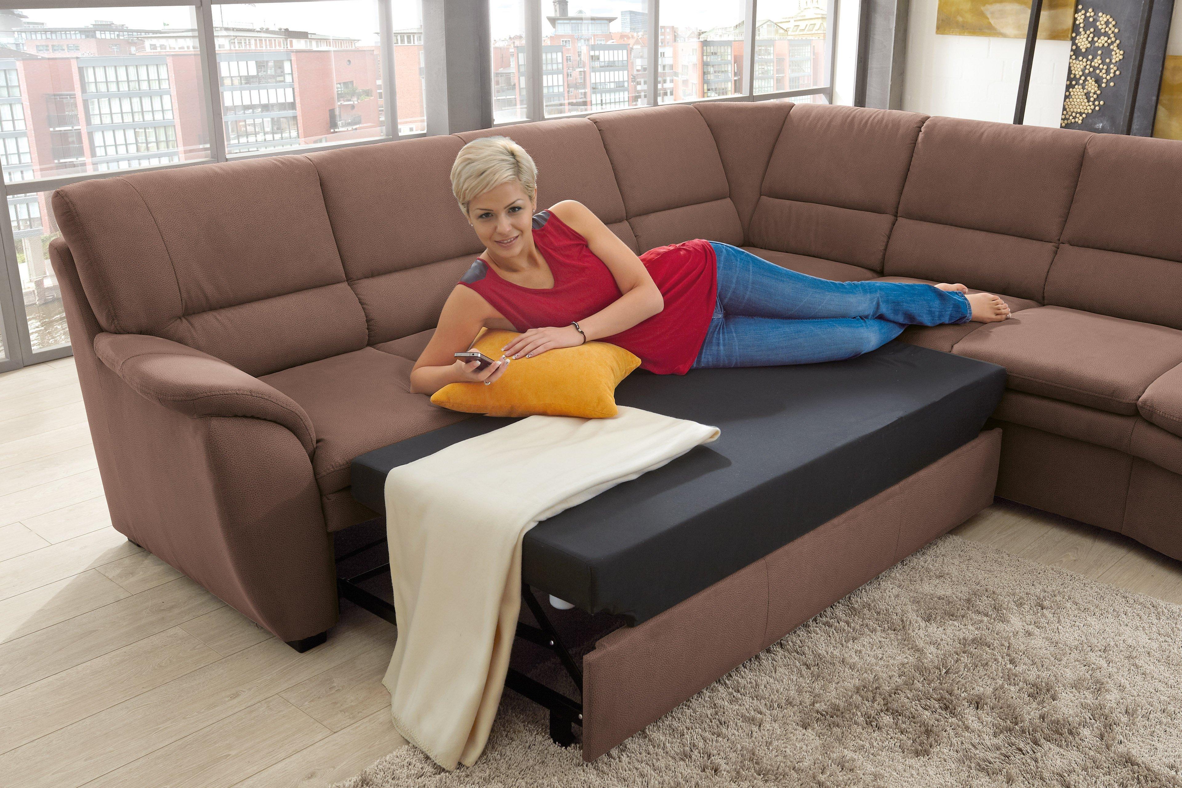 sit more home basic ginger eckgarnitur braun m bel letz ihr online shop. Black Bedroom Furniture Sets. Home Design Ideas