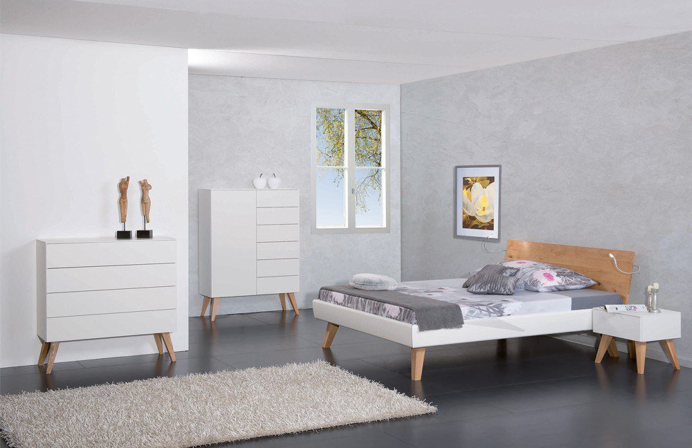 modular primolar colorado matino bett wei m bel letz ihr online shop. Black Bedroom Furniture Sets. Home Design Ideas