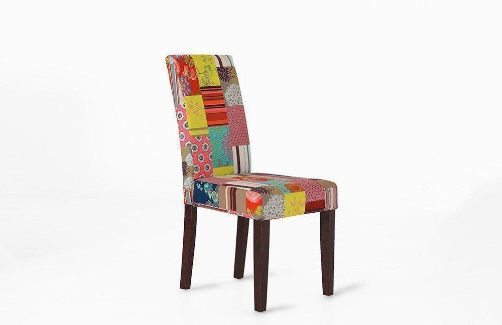 stuhl lorely bunt gemustert aus der kollektion letz. Black Bedroom Furniture Sets. Home Design Ideas