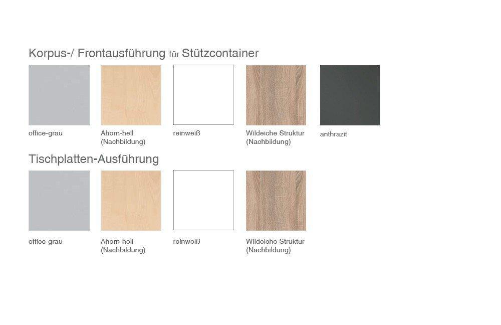 Wellemöbel Hyper Nierenschreibtisch Wildeiche | Möbel Letz - Ihr ...
