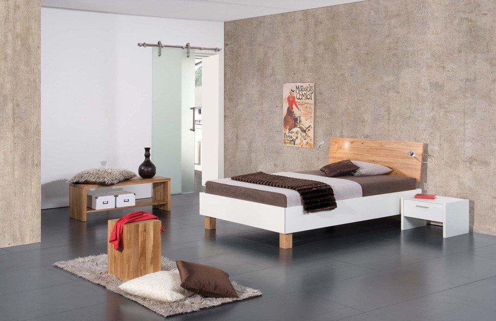 Modular Primolar lizzano & matino Einzelbett weiß | Möbel Letz - Ihr ...