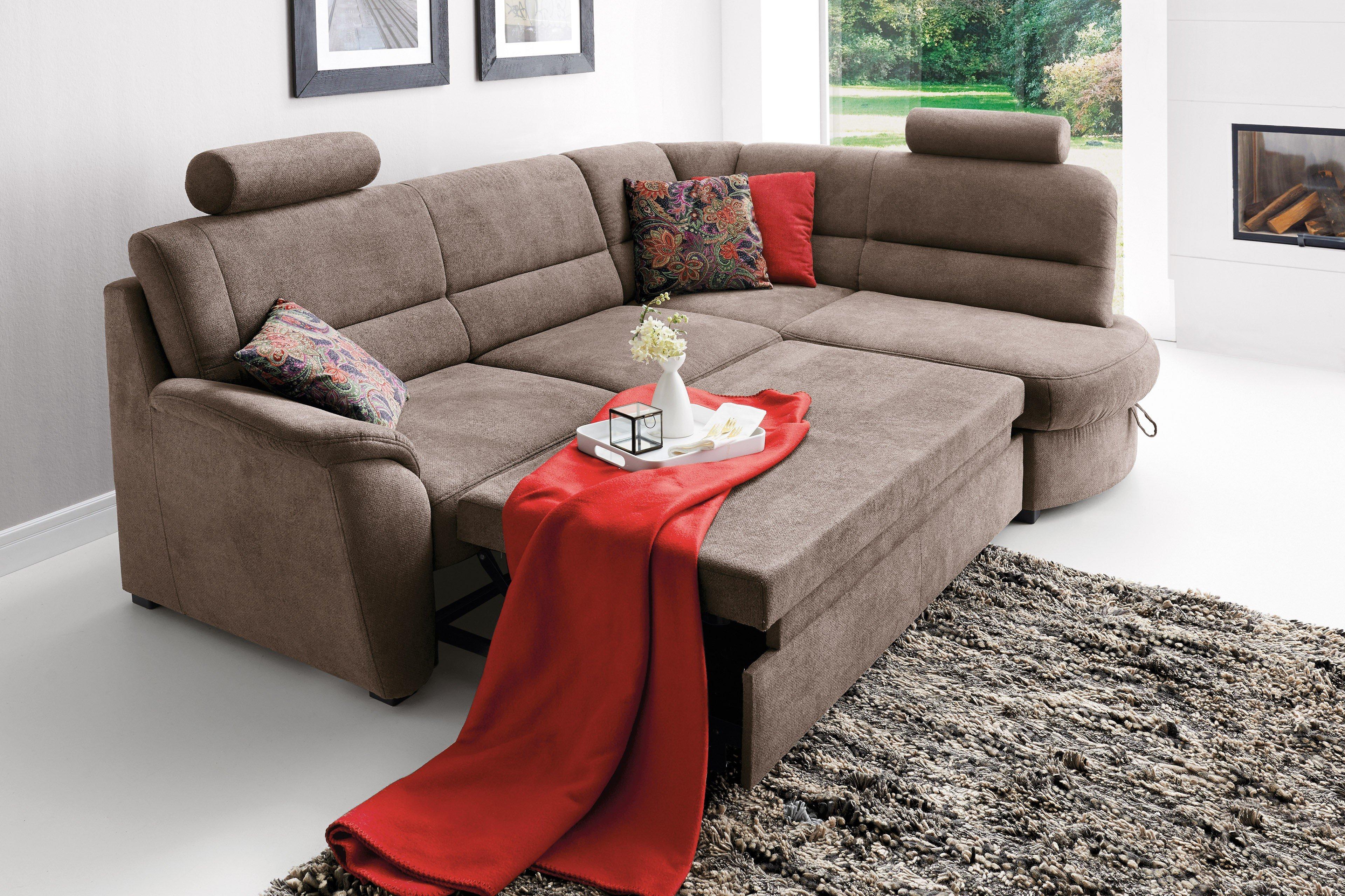 sit more pandora eckgarnitur braun m bel letz ihr online shop. Black Bedroom Furniture Sets. Home Design Ideas