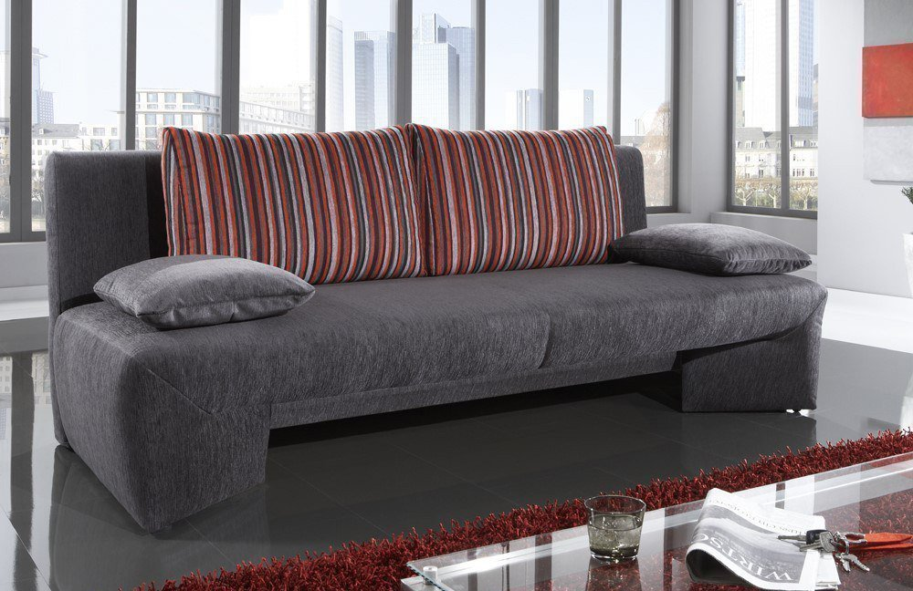 nehl wohnideen dolce schlafsofa in grau m bel letz ihr. Black Bedroom Furniture Sets. Home Design Ideas