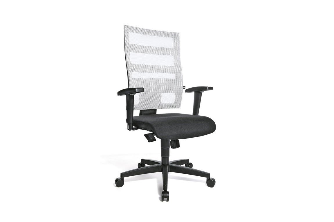 Drehstuhl weiß schwarz  Drehstuhl X-Pander/ Zolly weiß/ schwarz von Topstar | Möbel Letz ...
