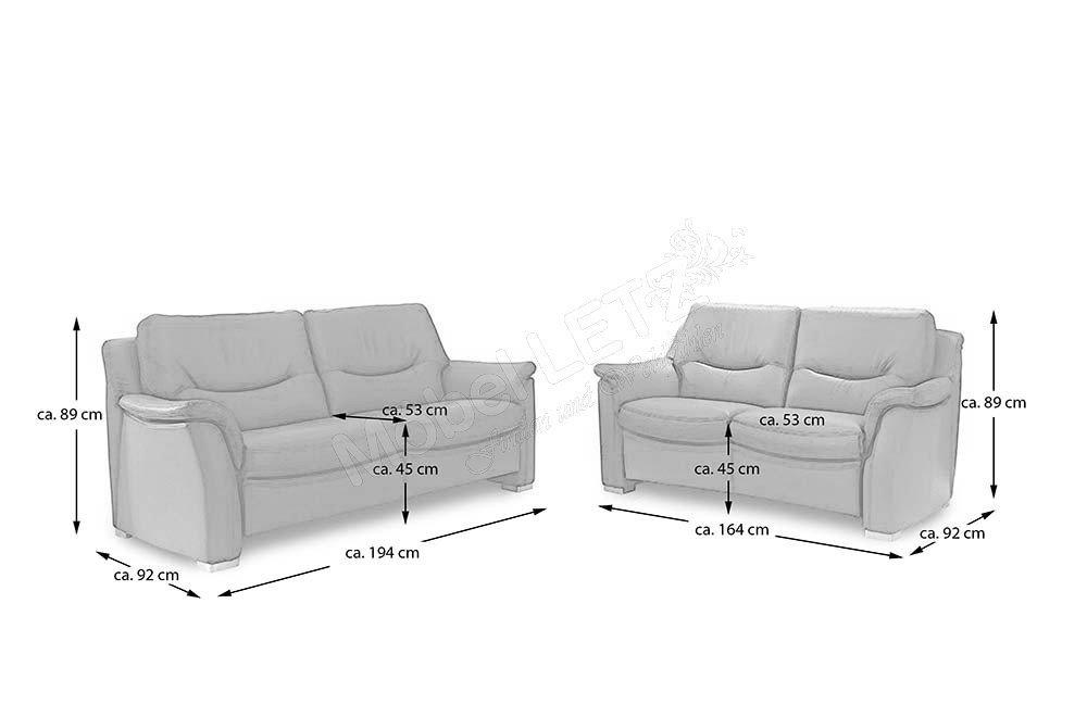 Hukla Sf1502 Sofagruppe In Hellbraun Mobel Letz Ihr Online Shop