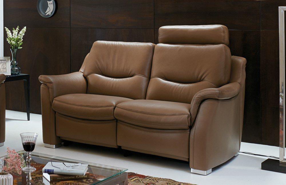 Hukla Hollywood Sofagruppe in Hellbraun | Möbel Letz - Ihr Online-Shop
