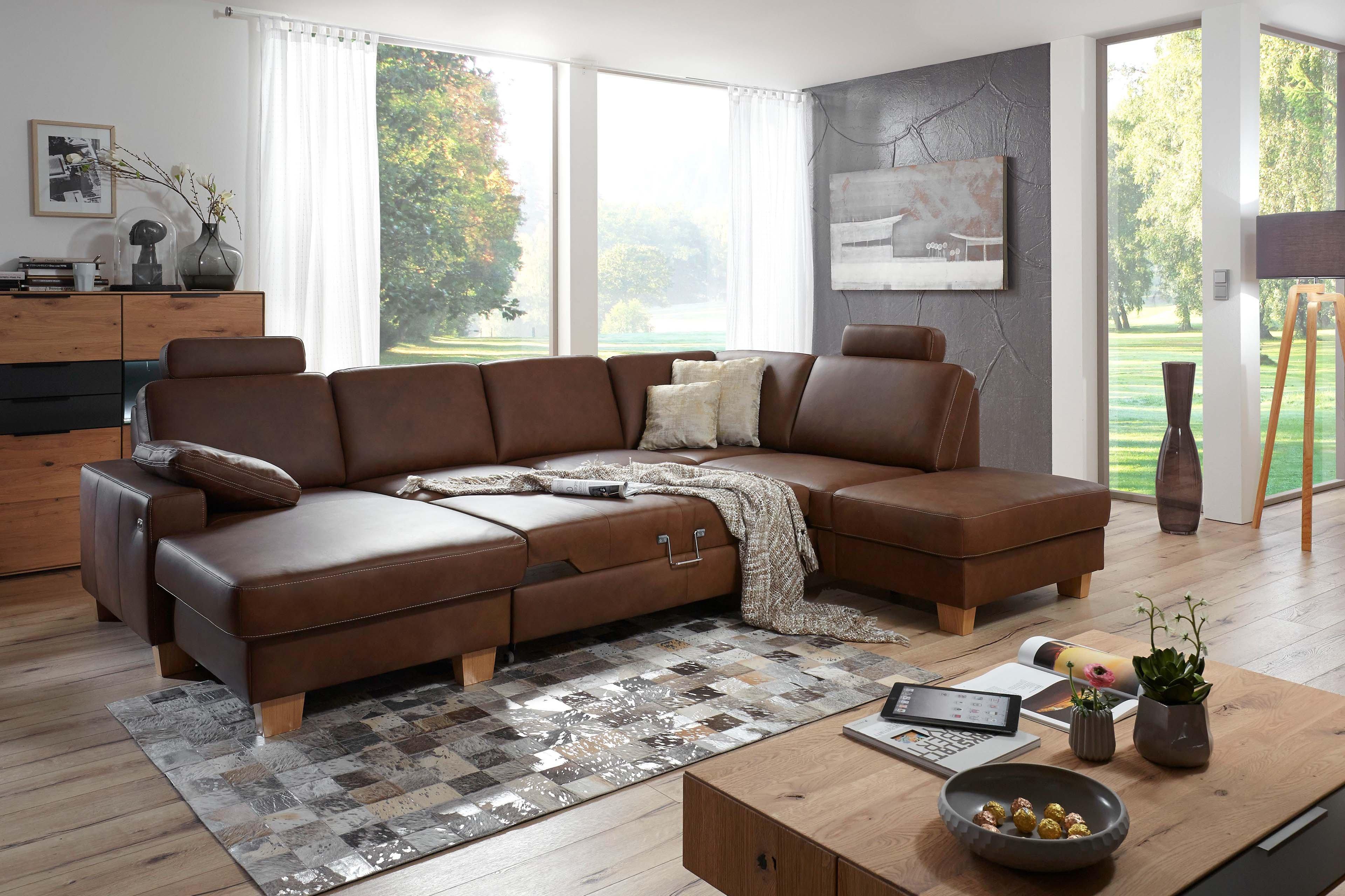 polinova symphony wohnlandschaft braun m bel letz ihr online shop. Black Bedroom Furniture Sets. Home Design Ideas
