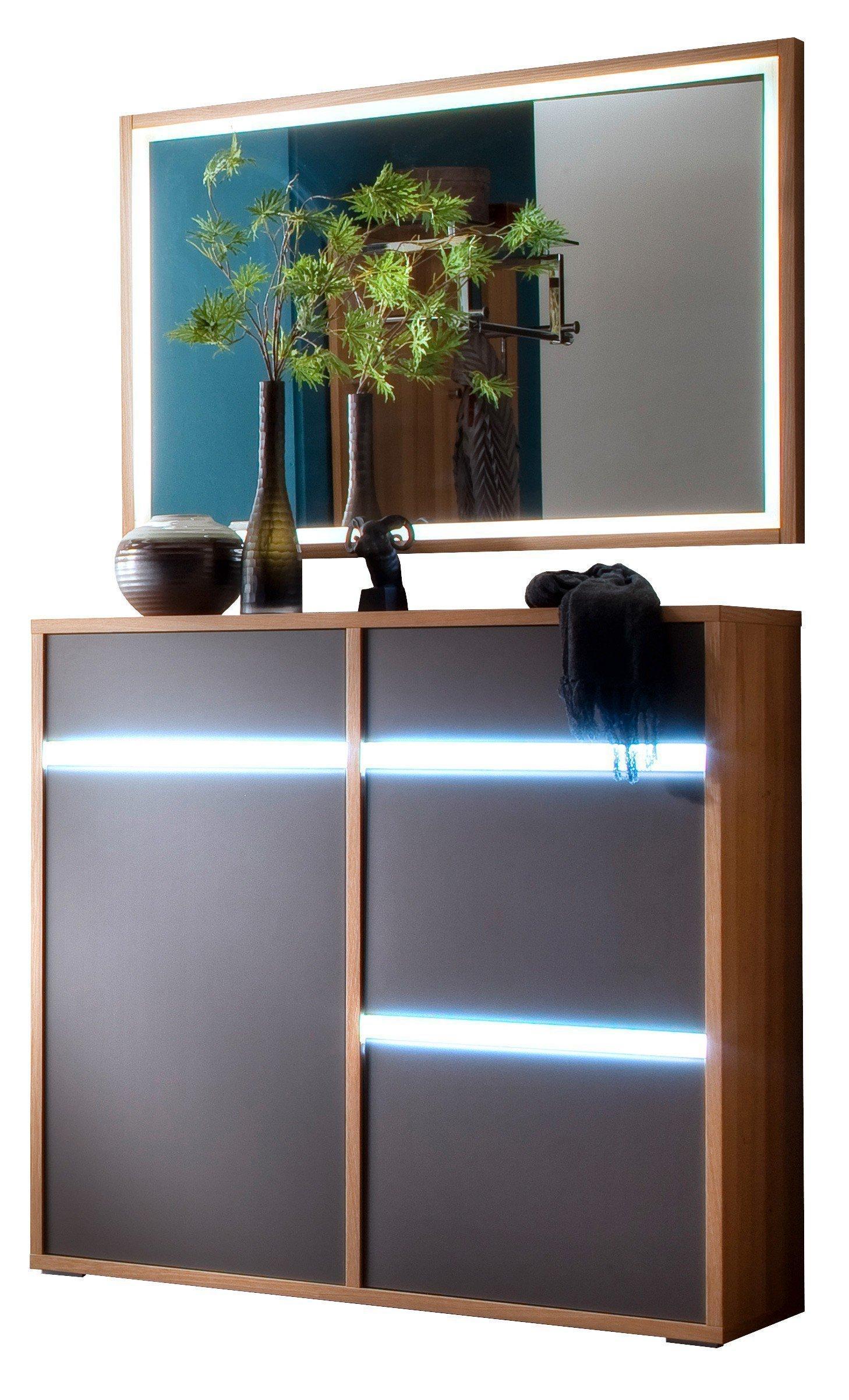 wittenbreder garderobe merano schuhschrank spiegel m bel letz ihr online shop. Black Bedroom Furniture Sets. Home Design Ideas