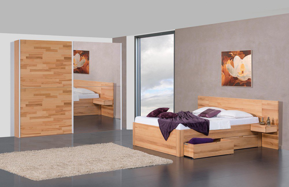 schlafzimmer set modular venezia parma kernbuche m bel letz ihr online shop. Black Bedroom Furniture Sets. Home Design Ideas