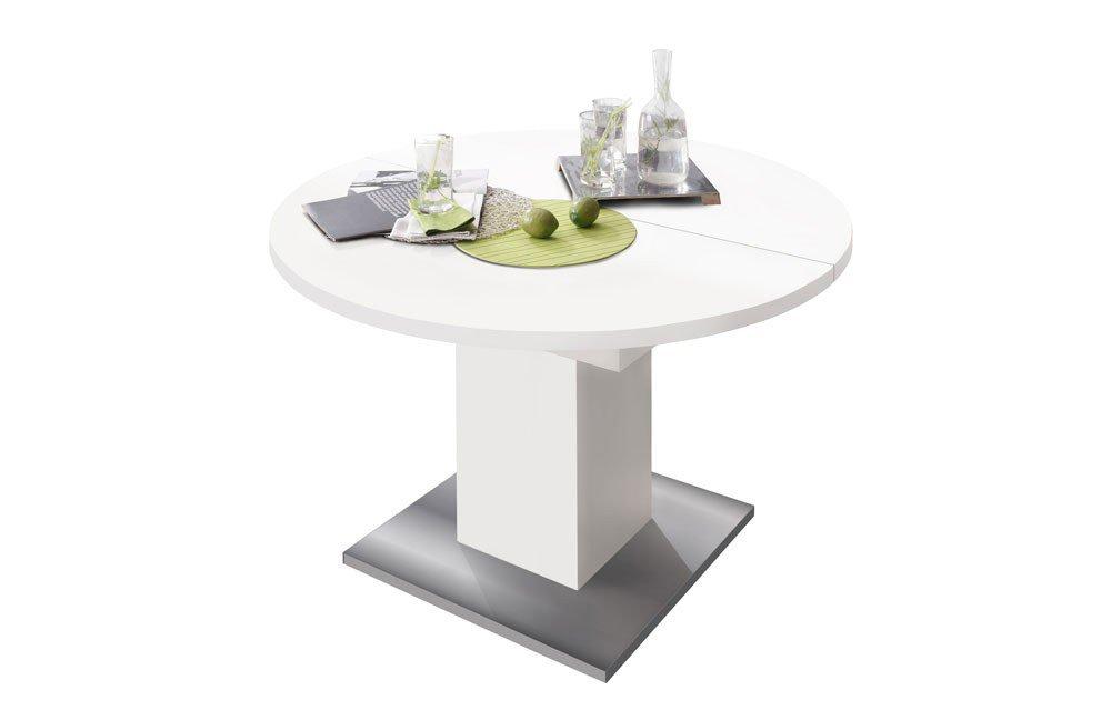 Esstisch weiß rund  Esstisch rund/ round/ Judd weiß matt von Mäusbacher | Möbel Letz ...