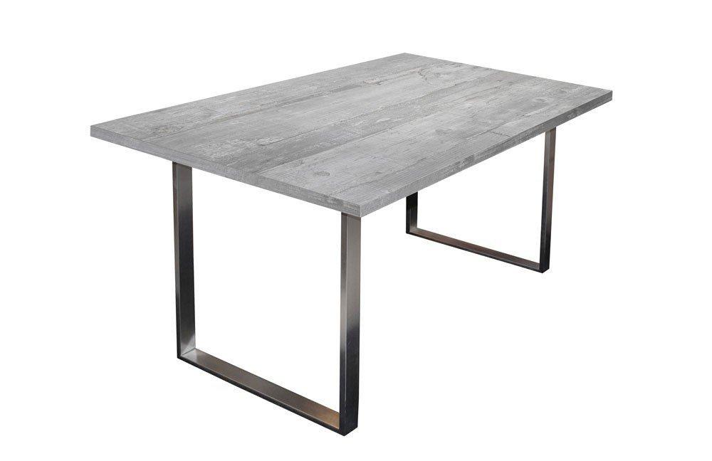 esstisch steel beton