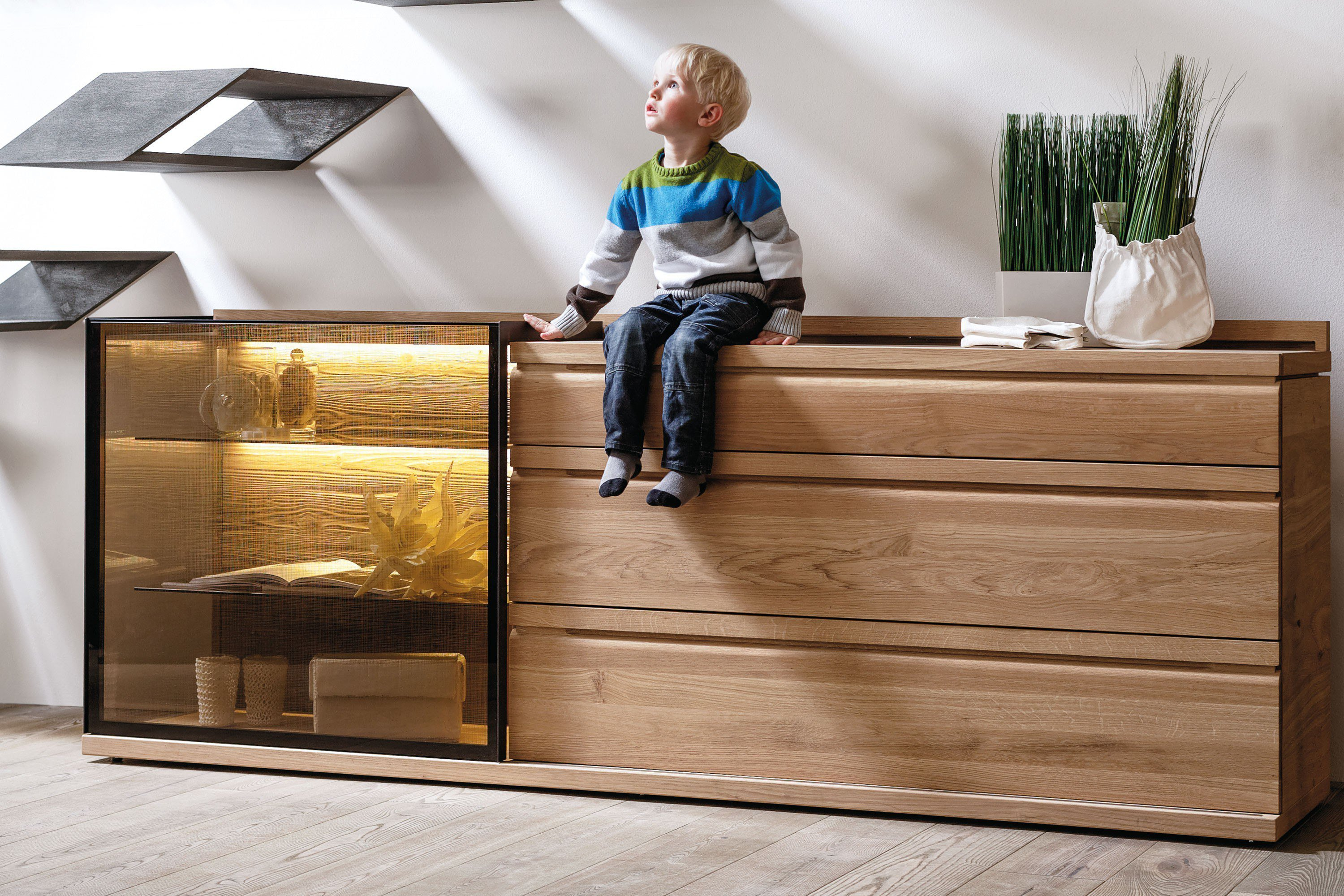 voglauer sideboard v loft ge lte wildeiche m bel letz ihr online shop. Black Bedroom Furniture Sets. Home Design Ideas
