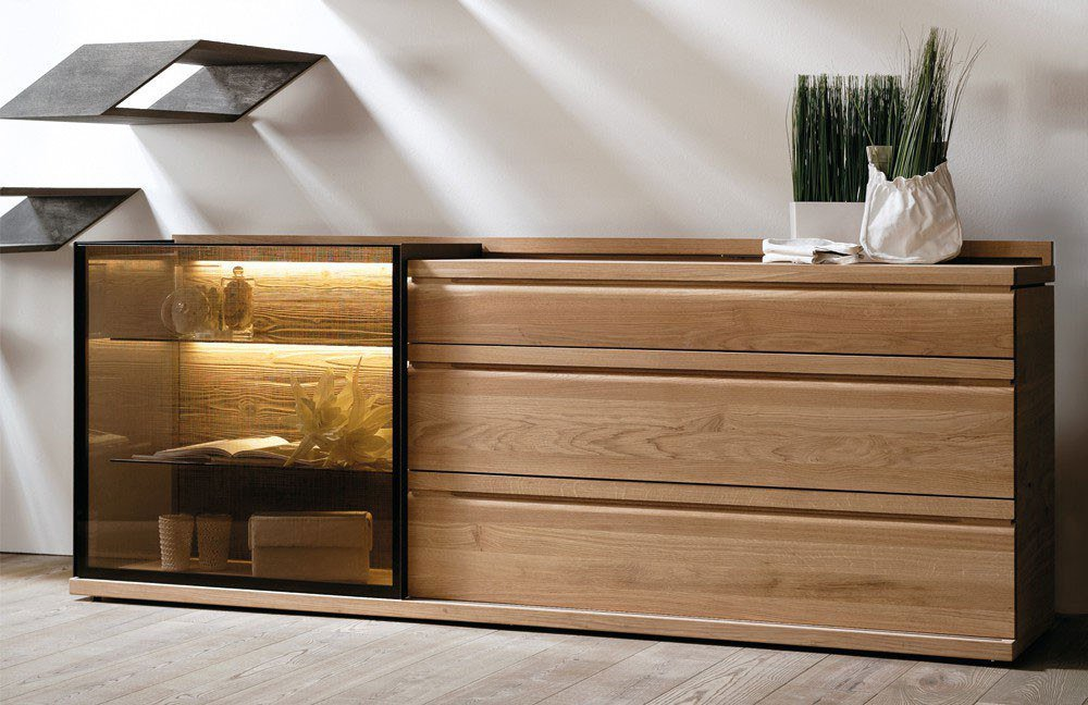 voglauer sideboard v loft ge lte wildeiche m bel letz. Black Bedroom Furniture Sets. Home Design Ideas