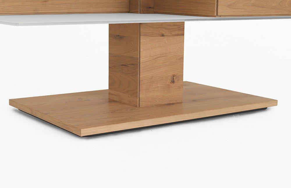 voglauer couchtisch v solid wildeiche rustiko optiwhite. Black Bedroom Furniture Sets. Home Design Ideas