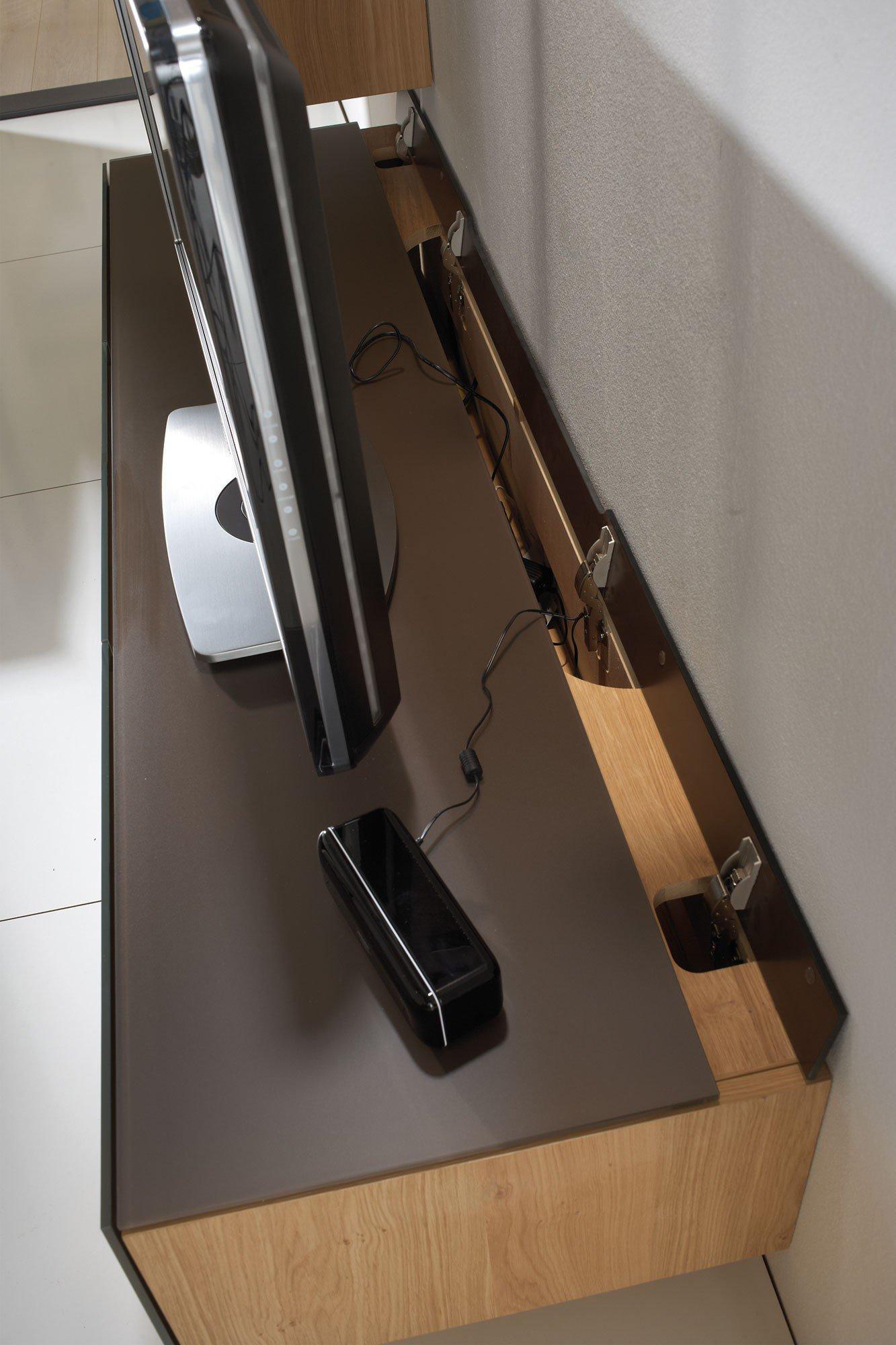 voglauer wohnwand v montana 285 braun wildeiche m bel. Black Bedroom Furniture Sets. Home Design Ideas