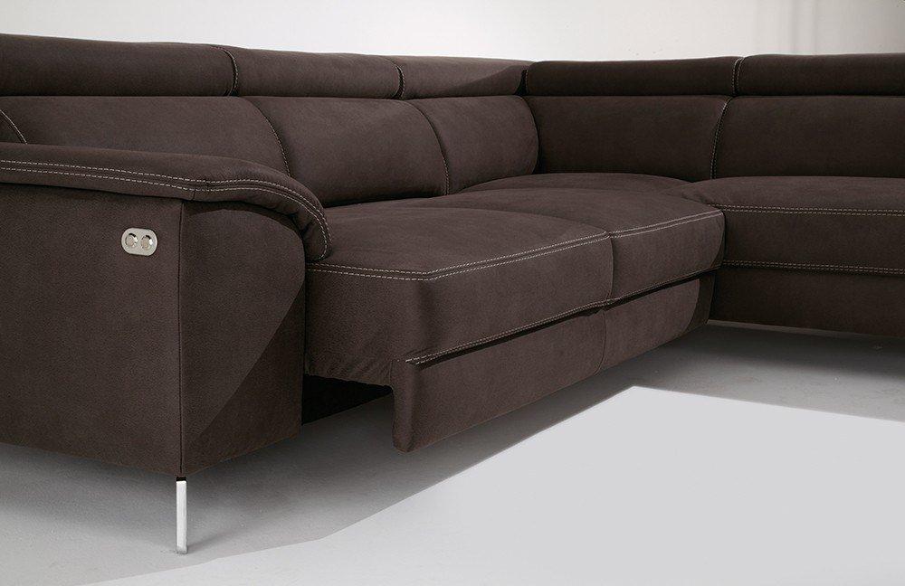candy colano columbia ecksofa braun m bel letz ihr online shop. Black Bedroom Furniture Sets. Home Design Ideas