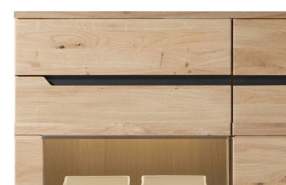 decker highboard ameno 118 wildeiche massiv m bel letz ihr online shop. Black Bedroom Furniture Sets. Home Design Ideas