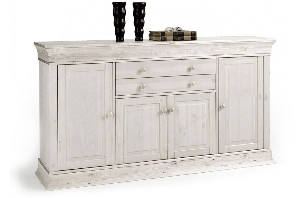 sideboard boston in wei von euro diffusion m bel letz ihr online shop. Black Bedroom Furniture Sets. Home Design Ideas