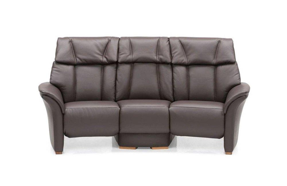 skandinavische m bel lykka trapez sofa in dunkelbraun m bel letz ihr online shop. Black Bedroom Furniture Sets. Home Design Ideas