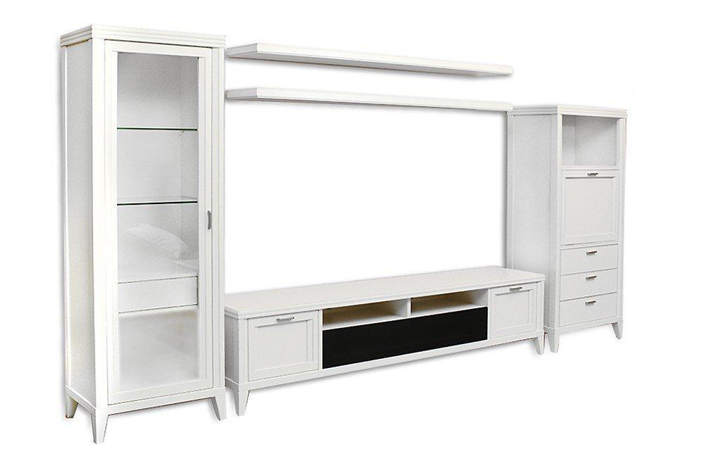 wohnwand eliza cremewei vintage von selva m bel letz ihr online shop. Black Bedroom Furniture Sets. Home Design Ideas