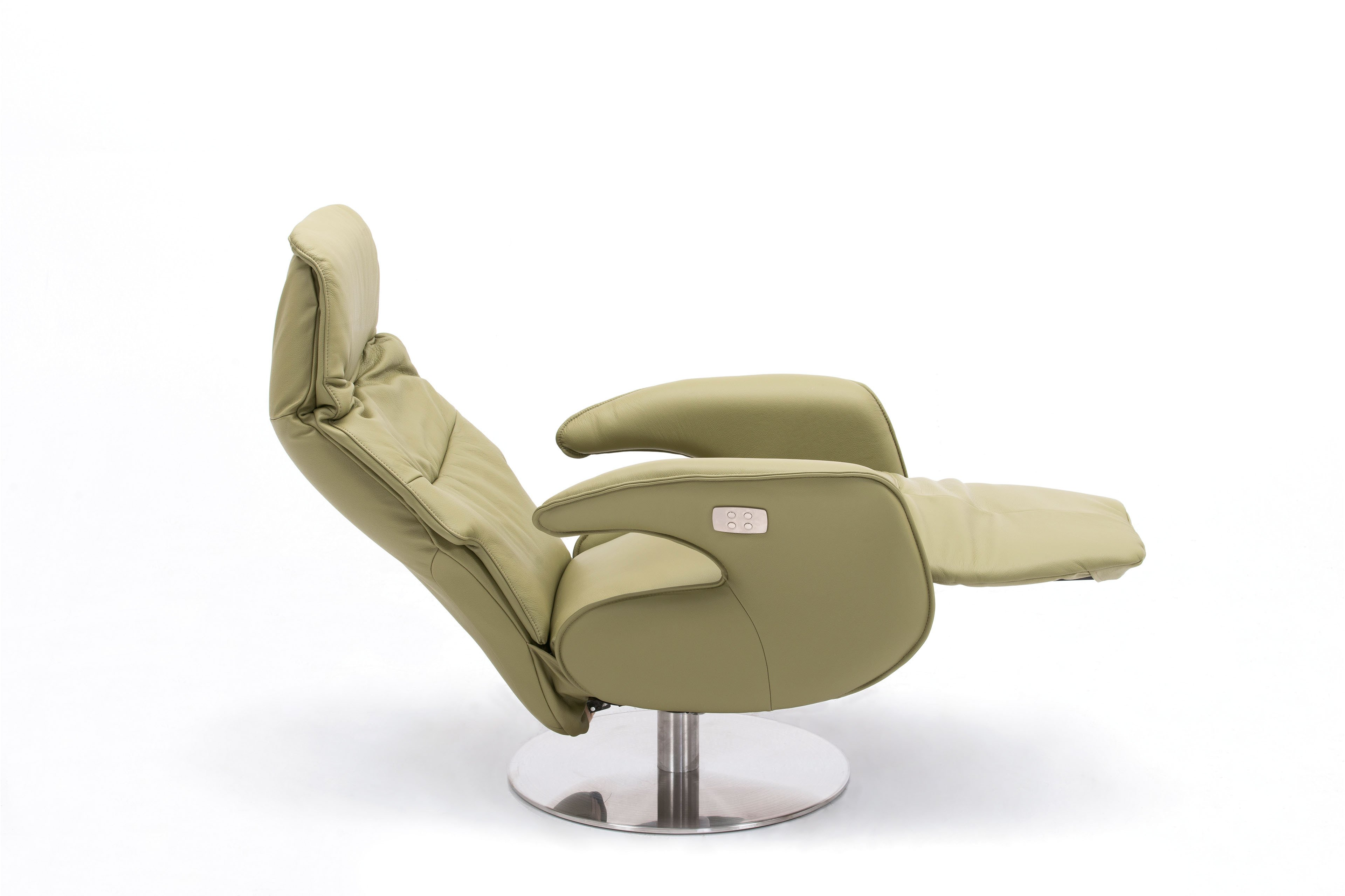 skandinavische m bel aaltje tv sessel in limetten gr n. Black Bedroom Furniture Sets. Home Design Ideas