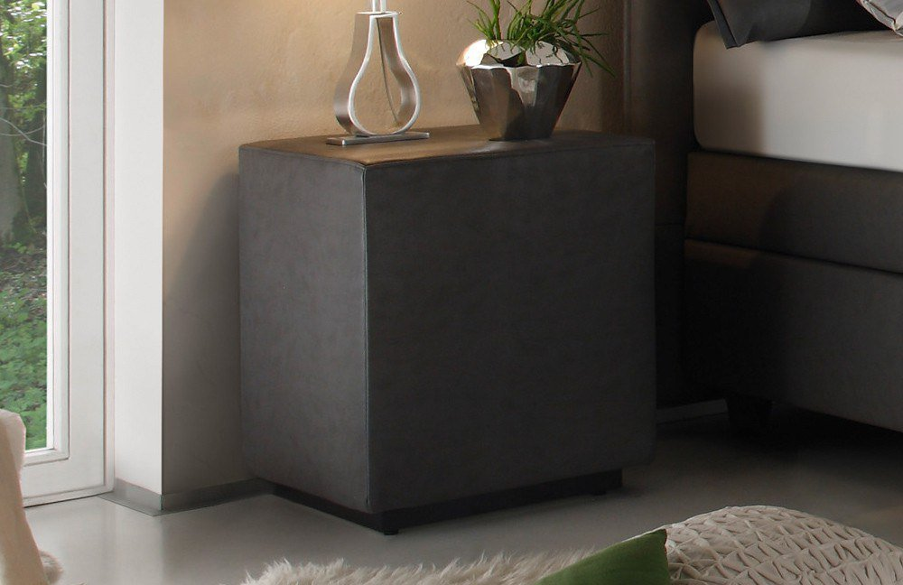 boxspringbett verola von ruf betten in grau m bel letz. Black Bedroom Furniture Sets. Home Design Ideas