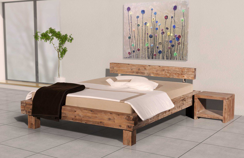 modular namur bett akazie sandgestrahlt m bel letz ihr. Black Bedroom Furniture Sets. Home Design Ideas