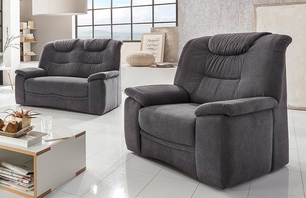 Benformato Granadi Sofagruppe Anthrazit Möbel Letz Ihr Online Shop
