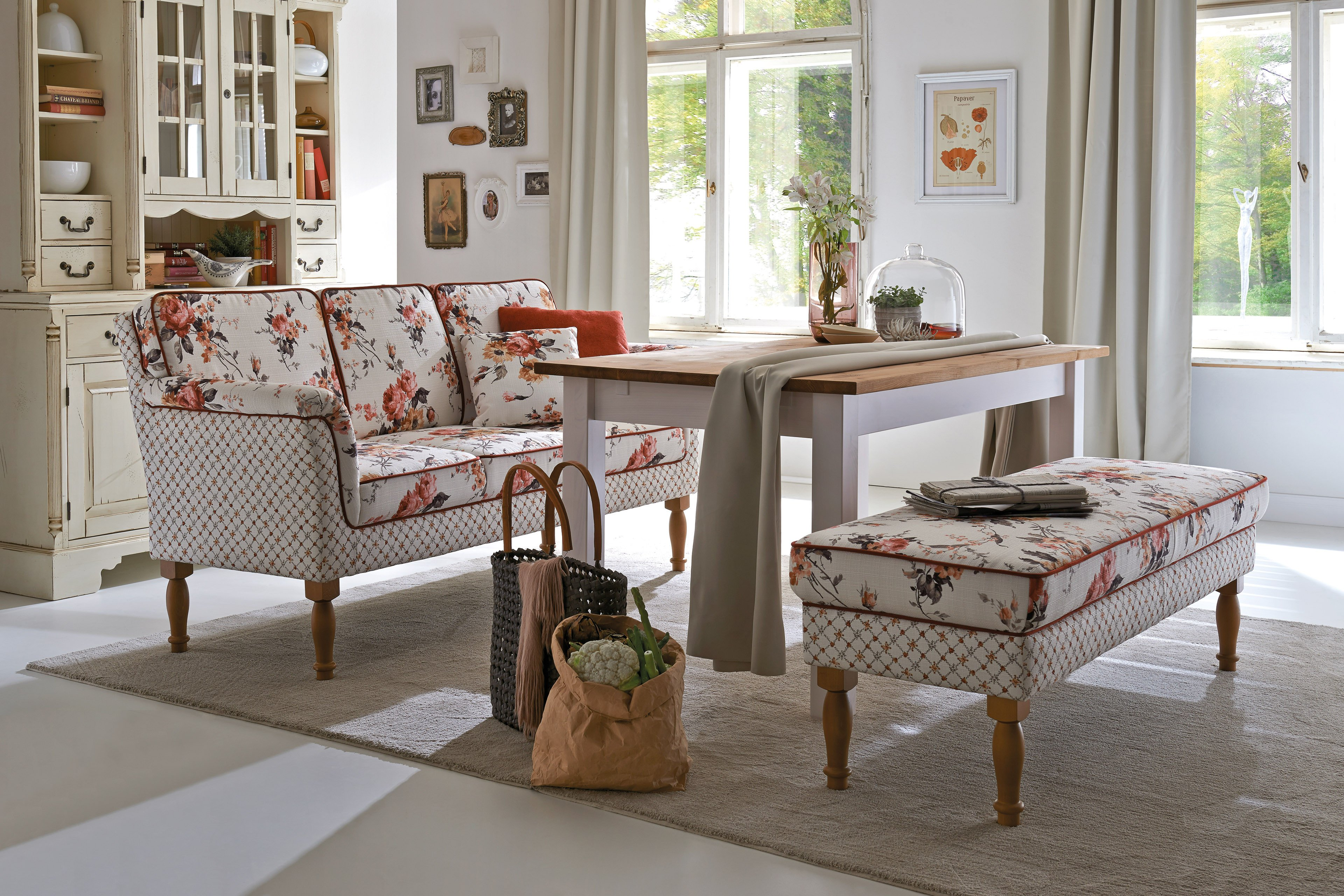 Sit More Home Basic Lancaster Dining Sofa Beige Mobel Letz Ihr