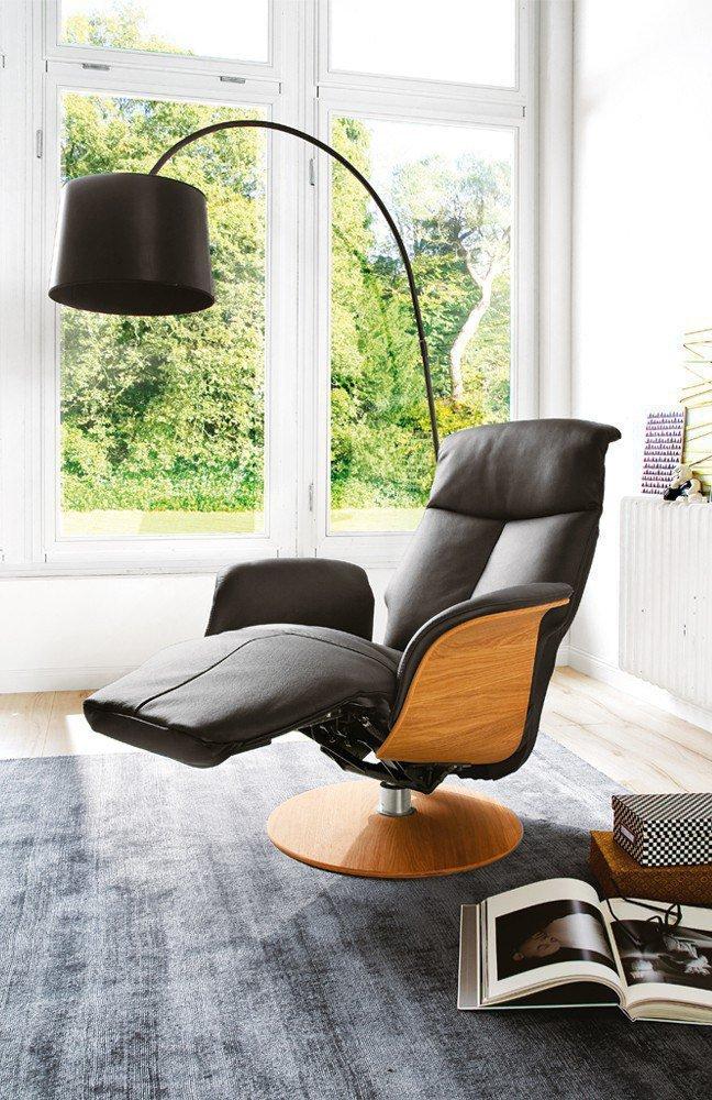 skandinavische m bel jarkko drehsessel in schwarz m bel letz ihr online shop. Black Bedroom Furniture Sets. Home Design Ideas
