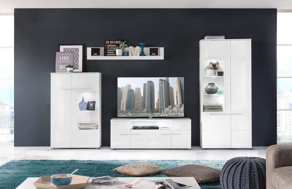 wohnwand vision 1679 973 01 von trendteam m bel letz ihr online shop. Black Bedroom Furniture Sets. Home Design Ideas