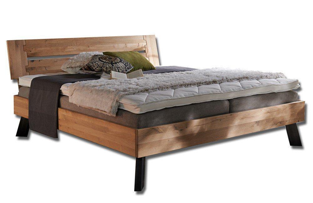 tj rnbo modern sleep bett eiche bianco m bel letz ihr online shop. Black Bedroom Furniture Sets. Home Design Ideas