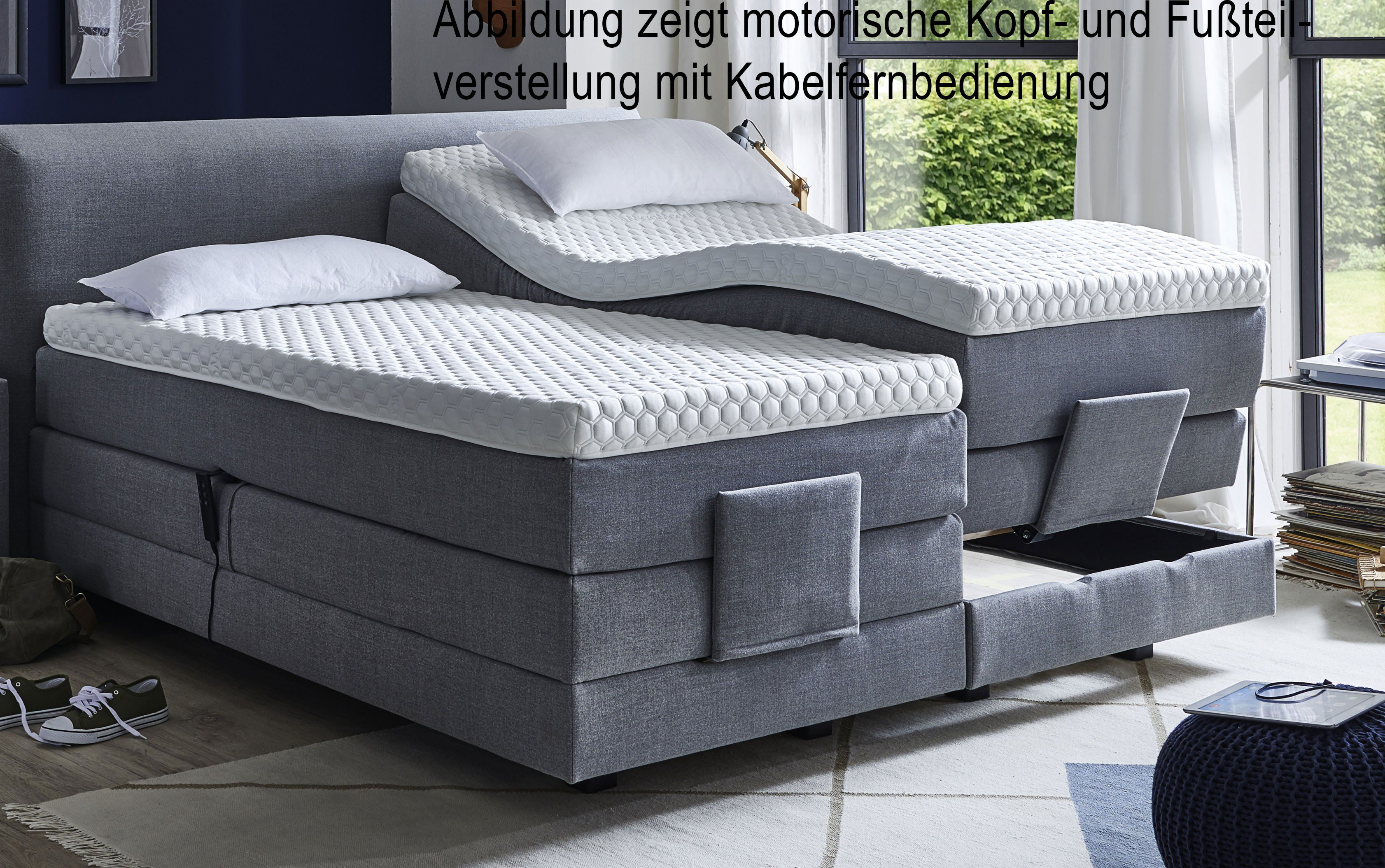 Fey Co Boxspringbett Wien Motorisch Dunkelbraun Möbel Letz Ihr