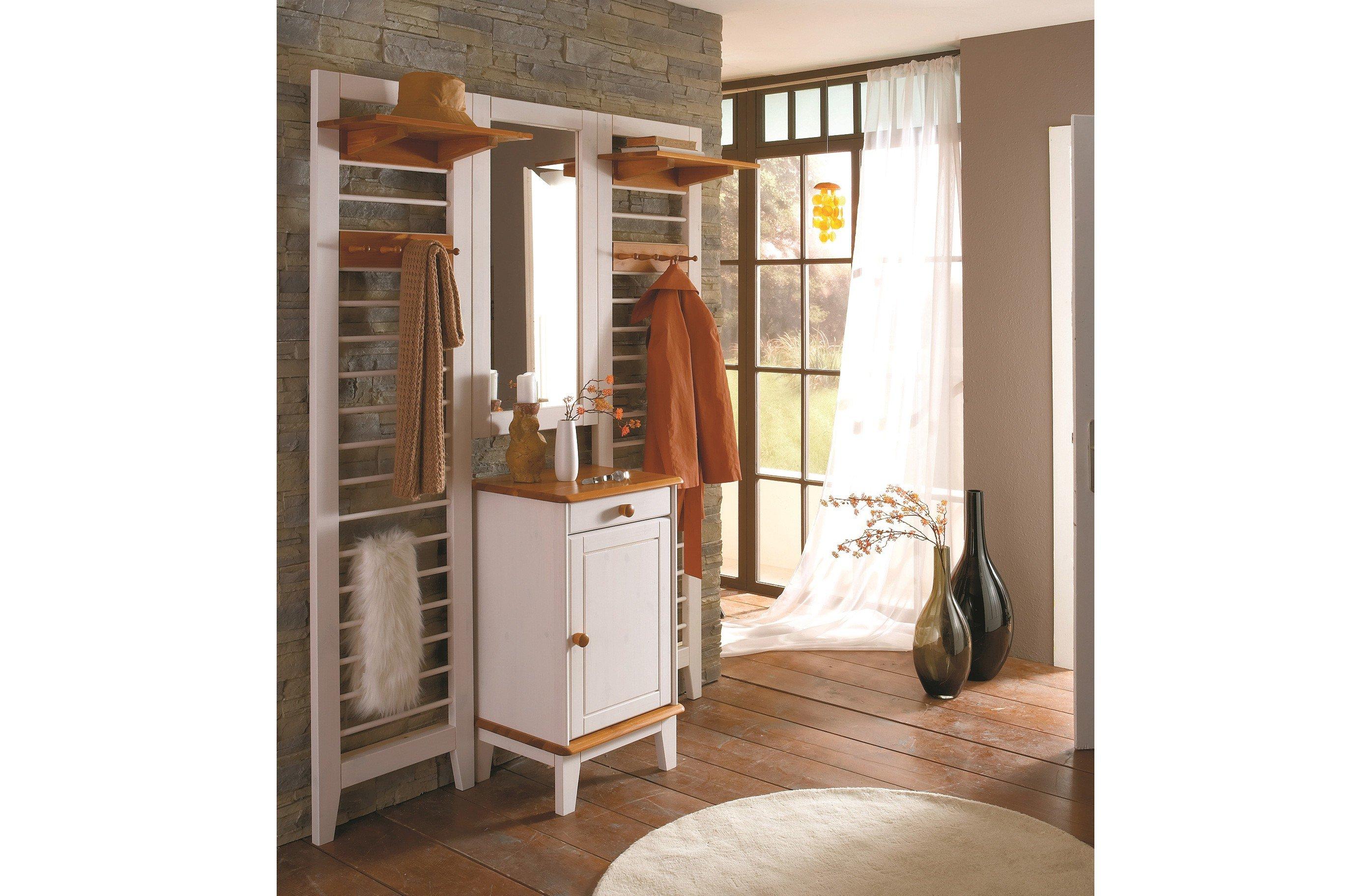 Provence Mobel Style : Garderobe butler kiefer weiß provence von iversen interiør möbel