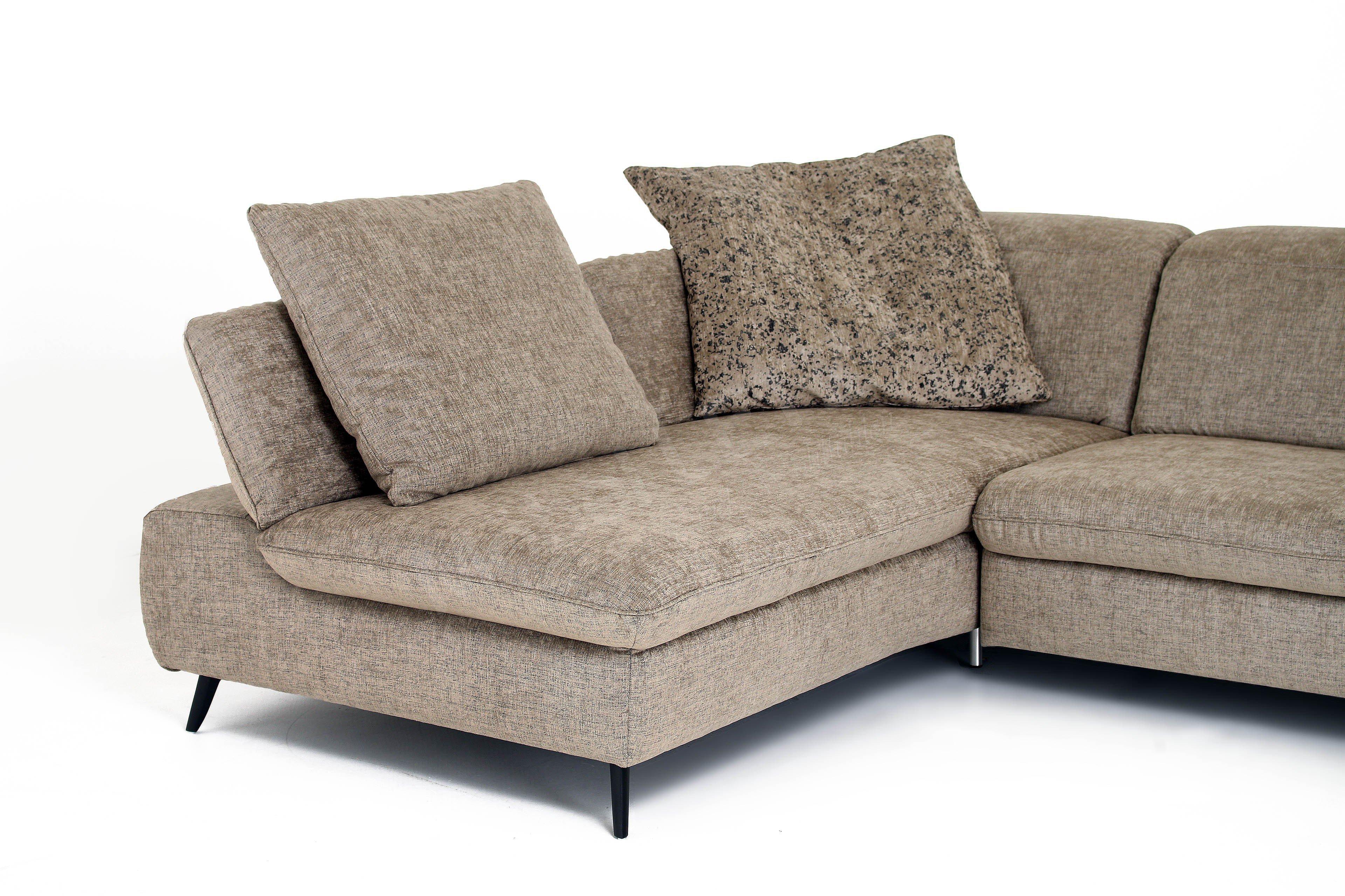 k w polsterm bel foxx eckcouch sand m bel letz ihr online shop. Black Bedroom Furniture Sets. Home Design Ideas