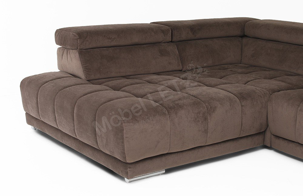megapol satellite sarita sammy ecksofa in braun. Black Bedroom Furniture Sets. Home Design Ideas