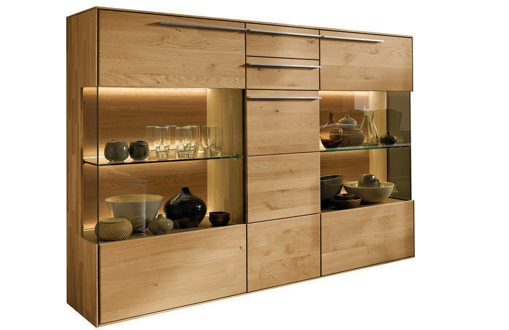 w stmann highboard casarano 3000 massive wildeiche m bel letz ihr online shop. Black Bedroom Furniture Sets. Home Design Ideas