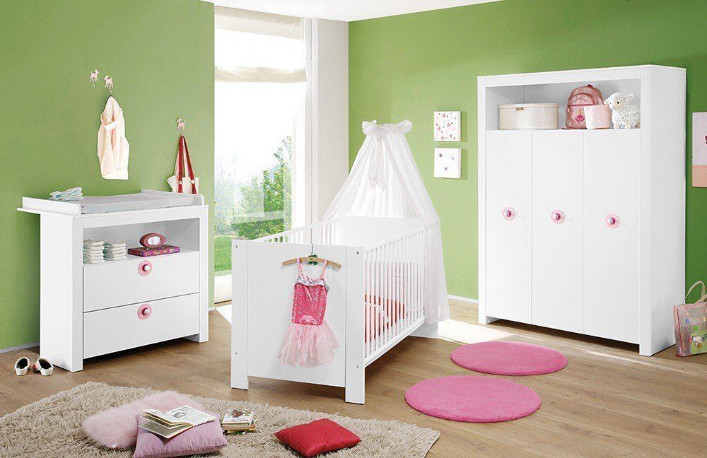 babyzimmer wei larella aus kollektion letz m bel letz ihr online shop. Black Bedroom Furniture Sets. Home Design Ideas