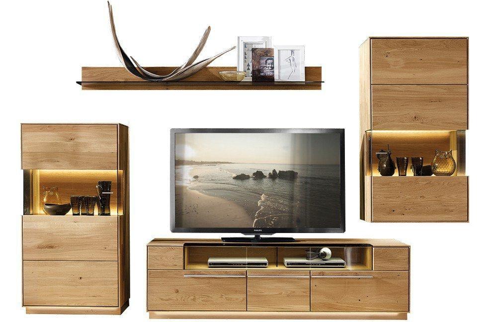w stmann wohnwand casarano 3000 k4 wildeiche geb rstet m bel letz ihr online shop. Black Bedroom Furniture Sets. Home Design Ideas