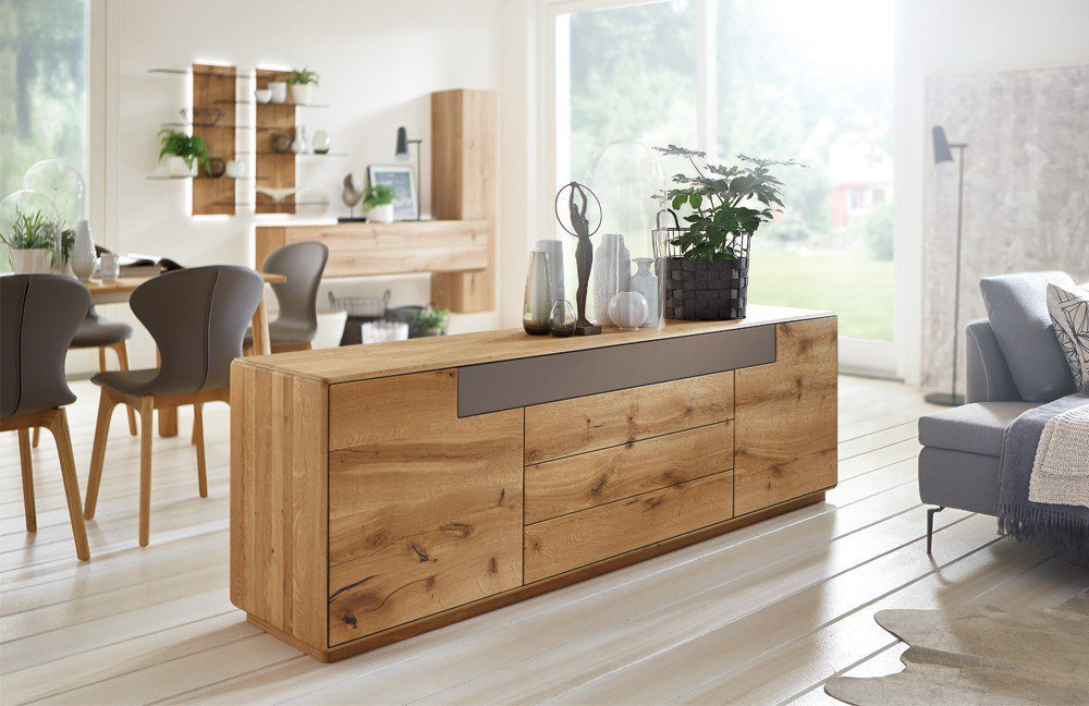 sideboard sineo 2950 massive wild bohleneiche von w stmann markenm bel m bel letz ihr. Black Bedroom Furniture Sets. Home Design Ideas