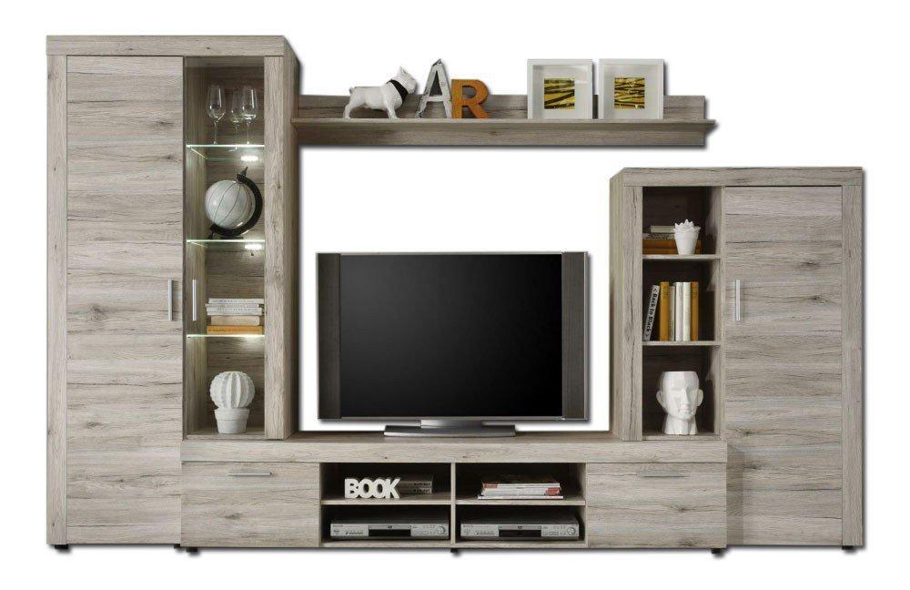 trendteam wohnwand fiesta 1392 983 88 m bel letz ihr online shop. Black Bedroom Furniture Sets. Home Design Ideas