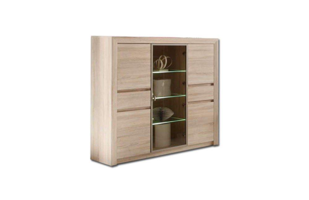 trendteam highboard sevilla 1415 863 45 m bel letz ihr online shop. Black Bedroom Furniture Sets. Home Design Ideas