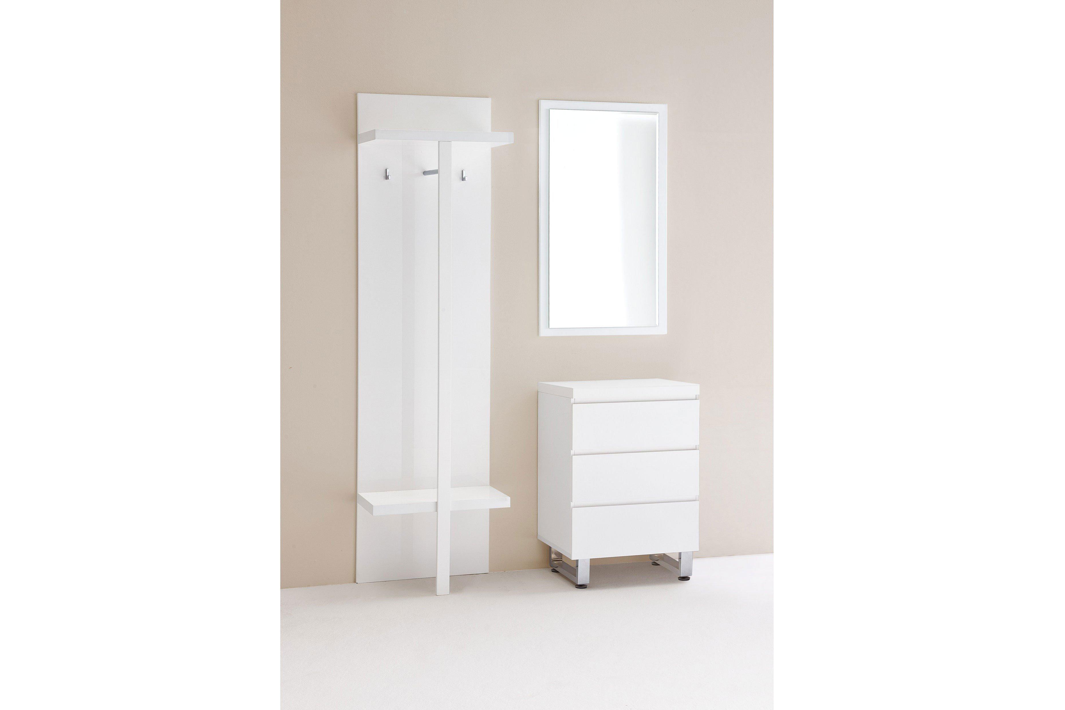 garderobe sydney hochglanz wei mca furniture m bel letz ihr online shop. Black Bedroom Furniture Sets. Home Design Ideas