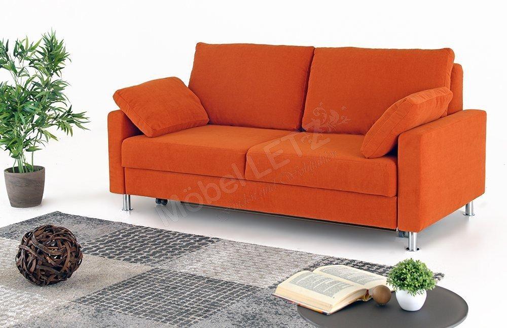 Schlafsofa orange bestseller shop f r m bel und for Schlafsofa orange