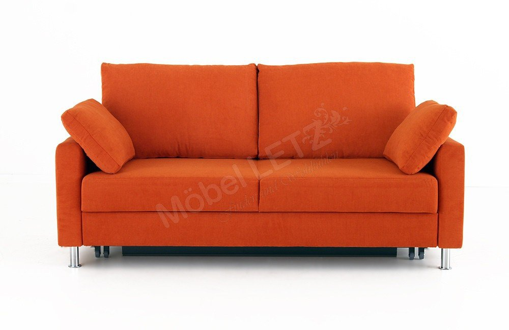 schlafsofa flexa von bali polsterm bel in orange m bel. Black Bedroom Furniture Sets. Home Design Ideas