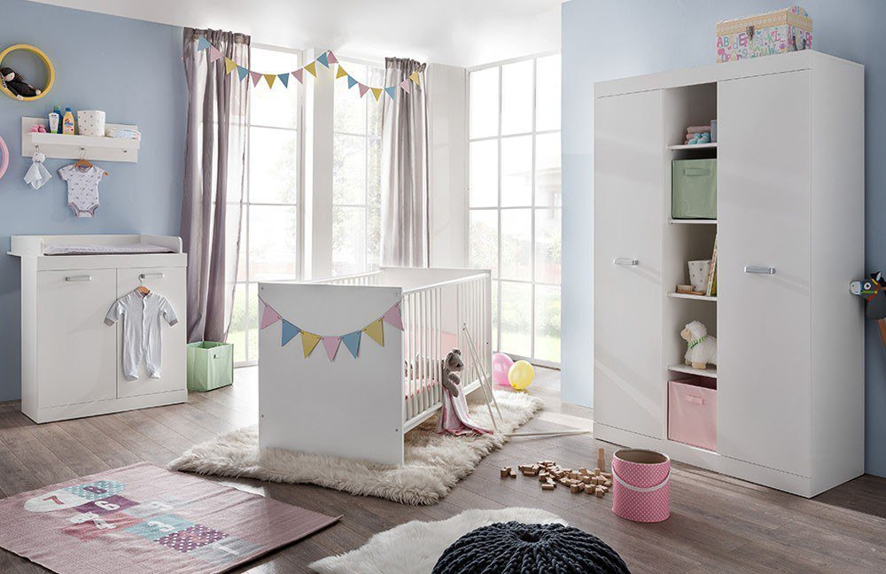 trendteam ronja komplett babyzimmer wei m bel letz ihr online shop. Black Bedroom Furniture Sets. Home Design Ideas