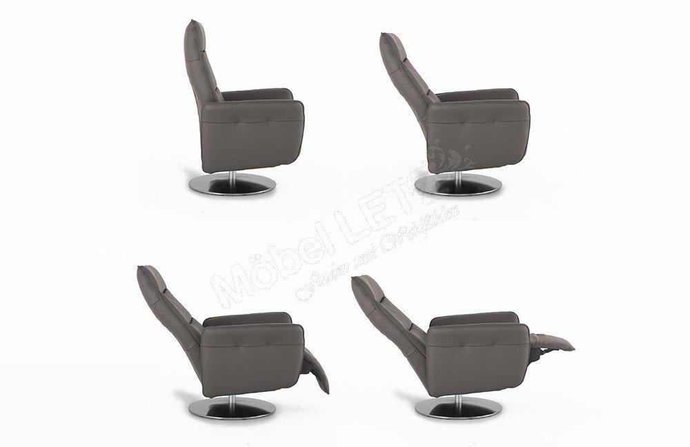 K+W 7300 Relaxsessel zinn   Möbel Letz - Ihr Online-Shop